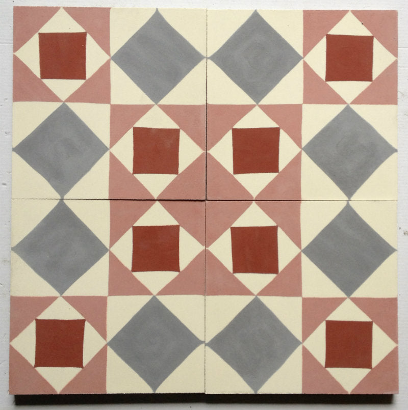 Encaustic Tiles: T119