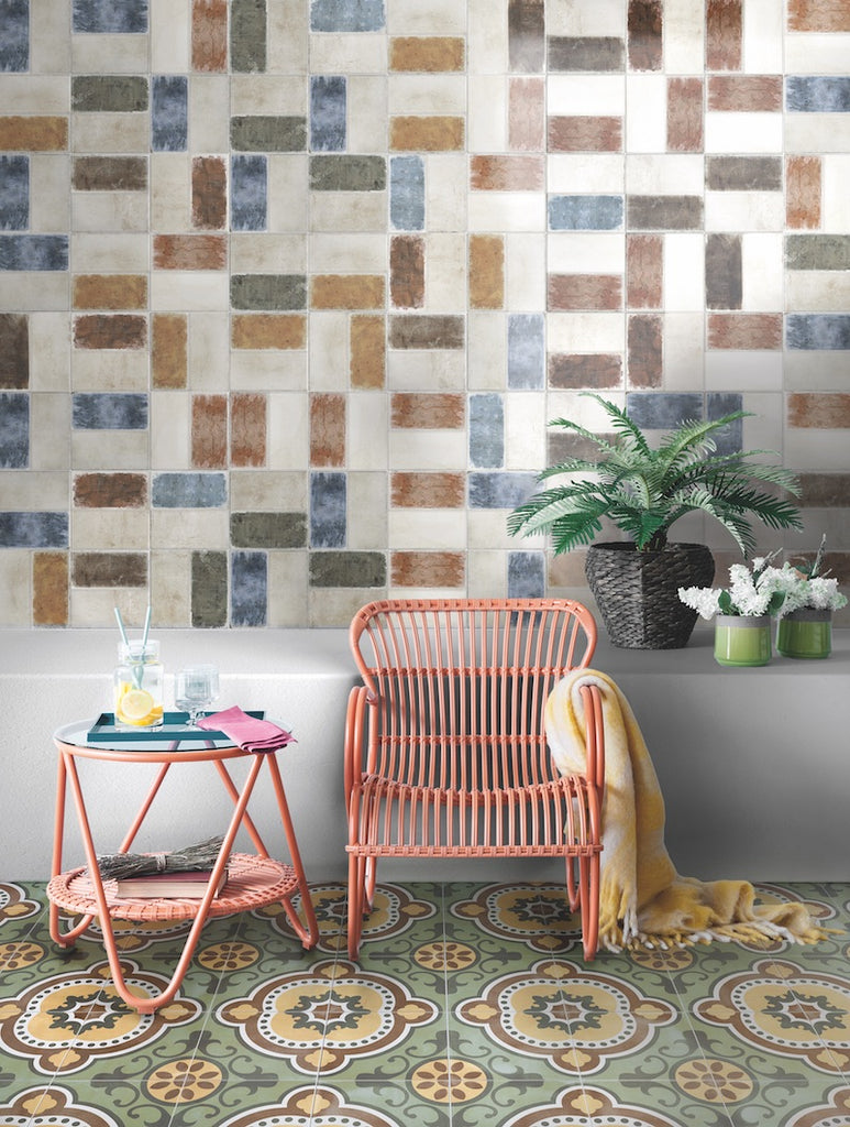 Timber-look: Timber Paint Ceramic Tiles
