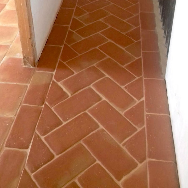 Terracotta: Handmade Rectangular Tiles