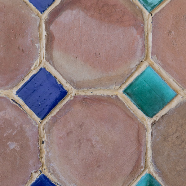 Terracotta: Hand-made Octagon Tiles