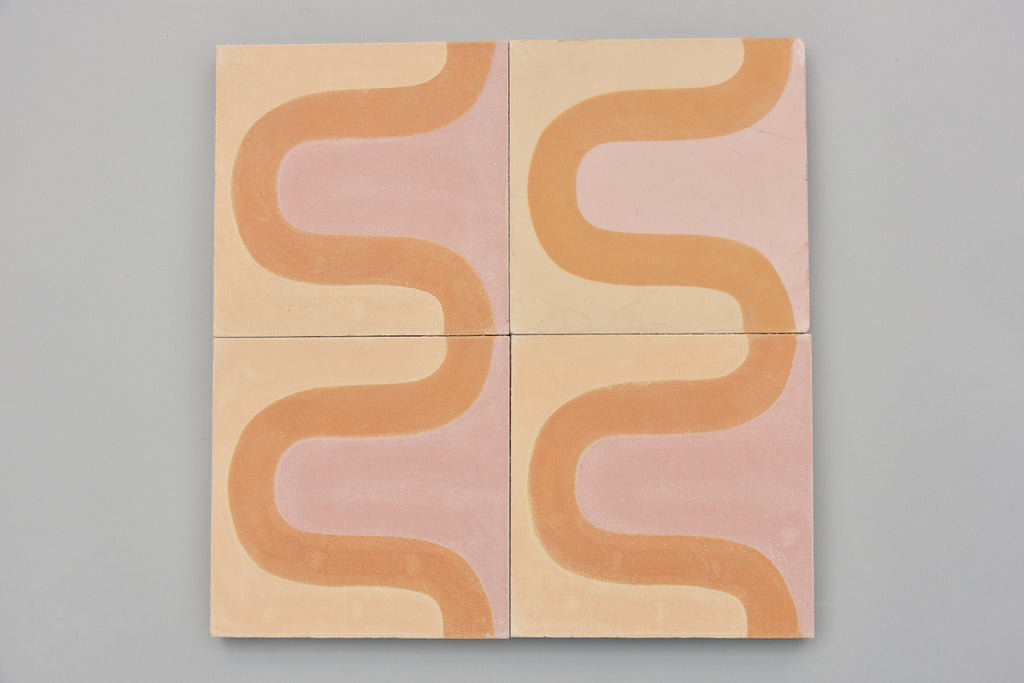 Encaustic Tiles: Undulate