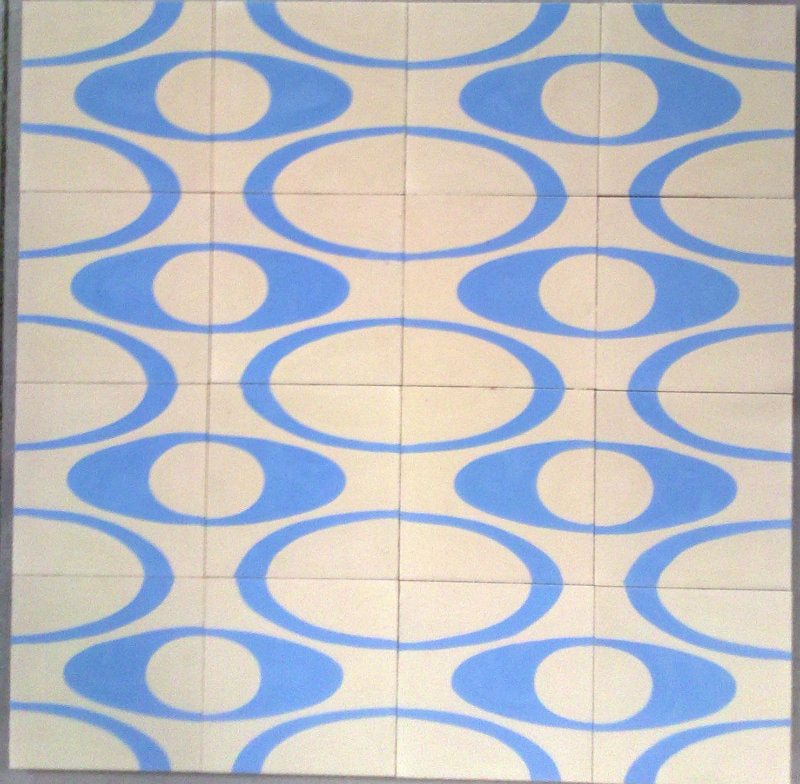 Encaustic Tiles: T-57