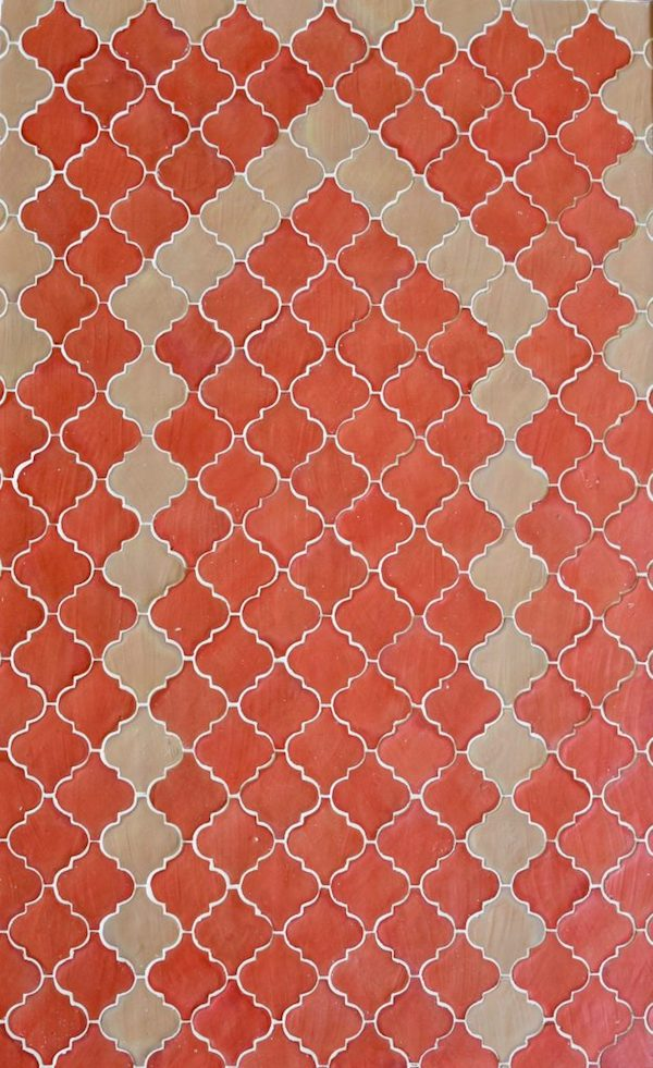 Coloured Terracotta: Handmade Arabesque