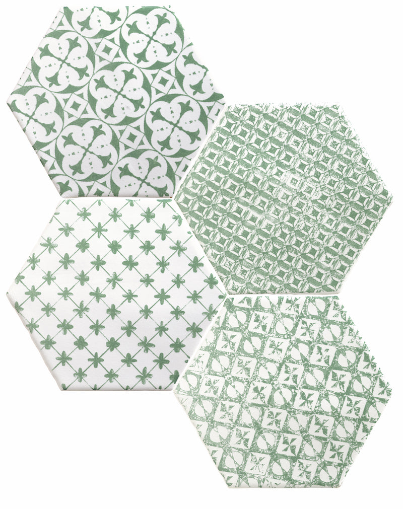 Marrakech Patterned Hexagons