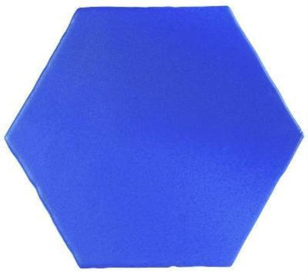 Blue Marrakech Hexagon