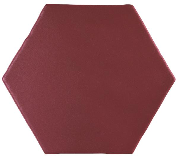 Maroon Marrakech Hexagon