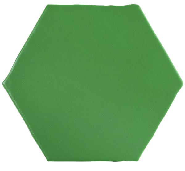 Green Marrakech Hexagons