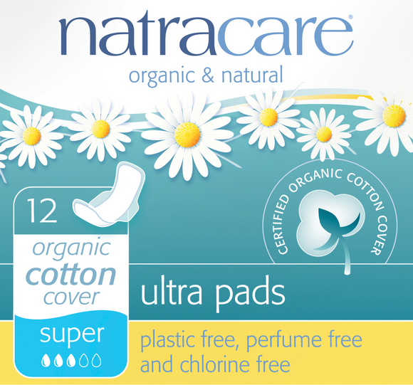 Natracare Products Organic Tampons, Pads & Liners