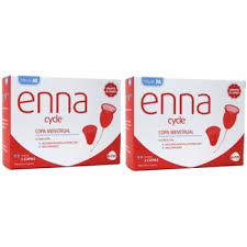 Enna Cycle Menstrual Cup Twin Pack - Multi Packs
