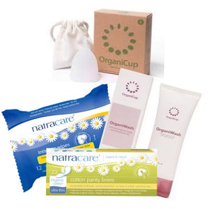 It's Your Period Organicup Size B Starter Pack with Free Gift - It's Your Period