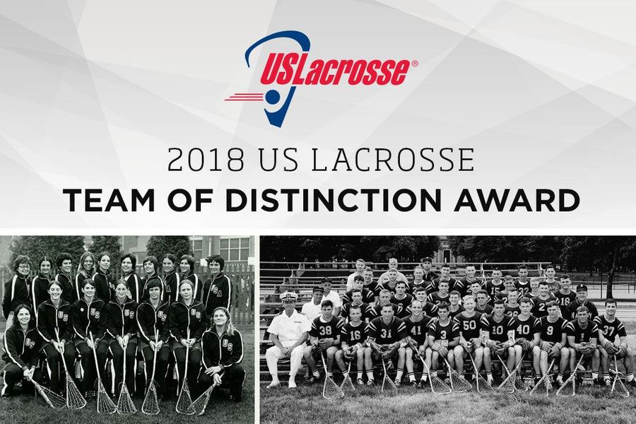 US LACROSSE HONORING TWO TEAMS OF DISTINCTION