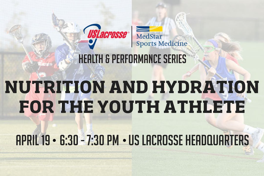FREE PRESENTATION ON NUTRITION & HYDRATION FOR YOUTH ATHLETES