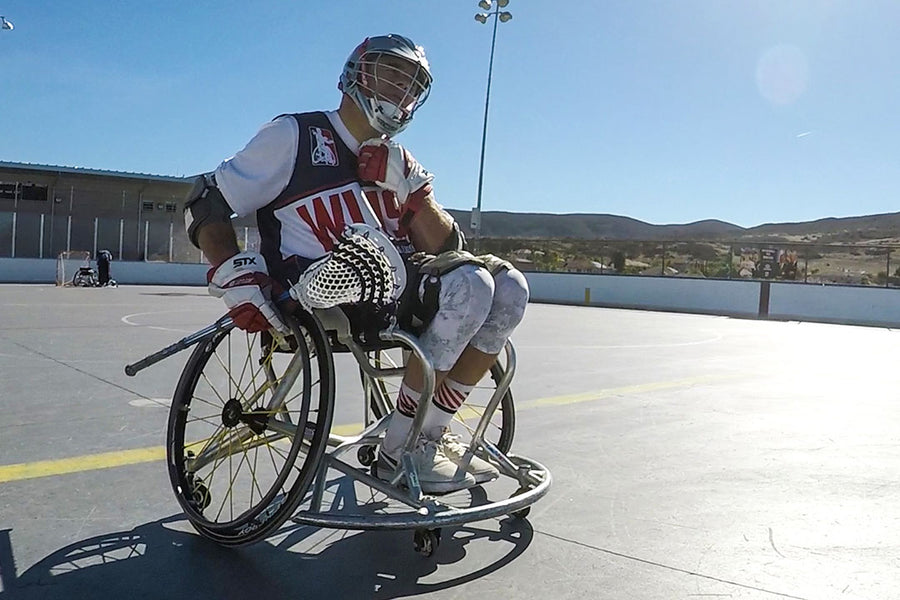 VIDEO: THE IMPACT OF WHEELCHAIR LACROSSE
