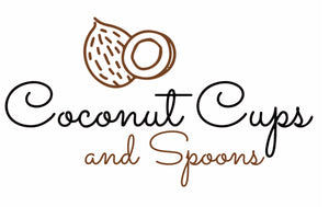 Coconut Cups and Spoons