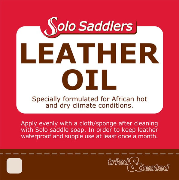 5L Leather Dressing Solo