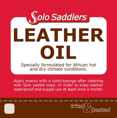 1L Leather Dressing Solo