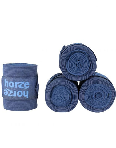 Navy Nest Bandages Horze