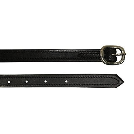 Spur Straps Leather/Double Stitched