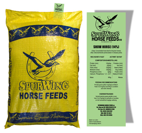 Spurwing 14% Show Horse Meal