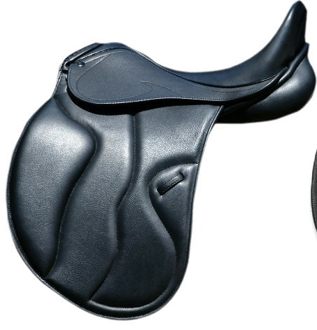 17  Black XMD1-C Argo Dressage Saddle