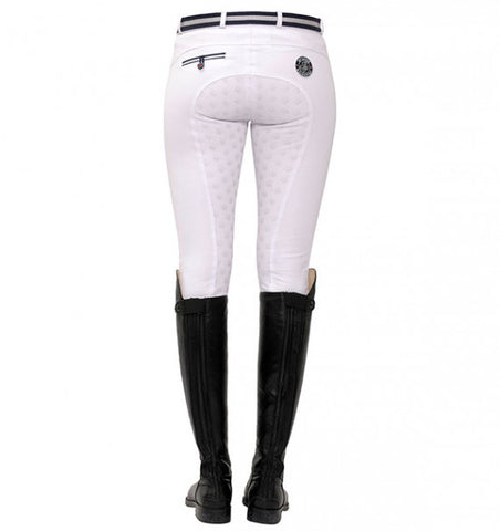 Spooks Lucy Full Grip Breeches White
