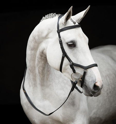 Competition Black Rambo Micklem Bridle