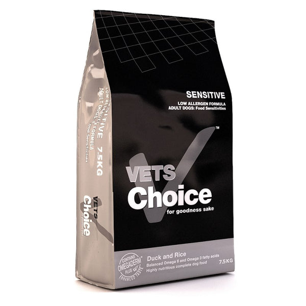 Vets Choice dry dog food Sensitive 7.5Kg