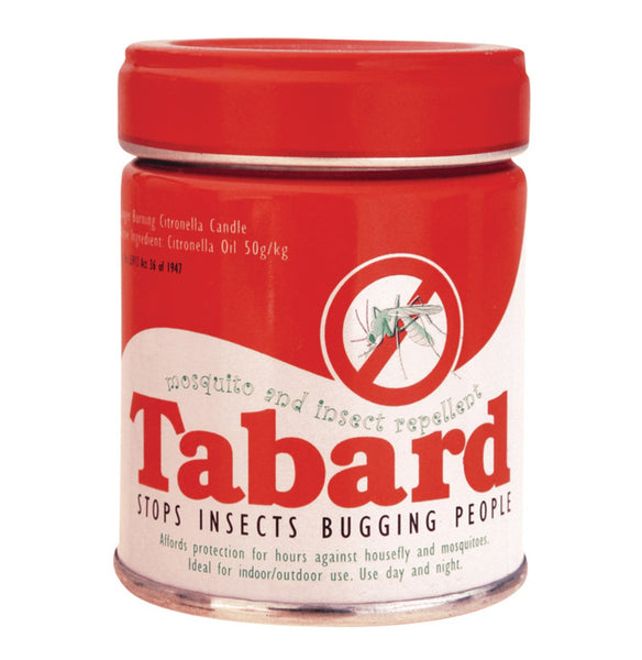 Tabard Insect Rep Candle 120G