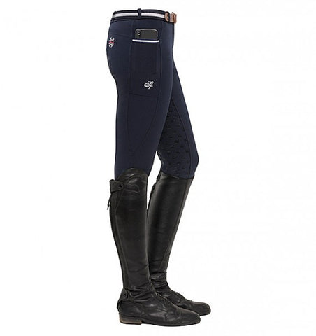 Spooks Leena Full Grip Breeches Navy