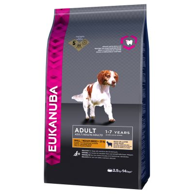 Eukanuba Adult 3Kg Small Medium Lamb Rice