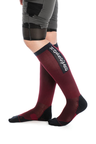 Horseware Ladies Technical Sport Socks Summer Berry