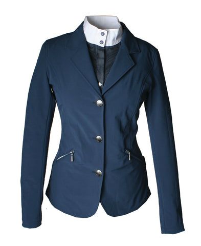 Navy Horseware Childrens Competition Jacket