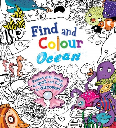 Find & Colour:Ocean