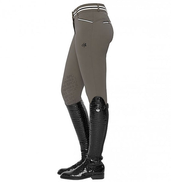 Spooks Ina Light Knee Grip Breeches Stone