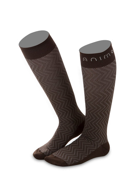 Animo Treccia Marrone (Brown) Socks