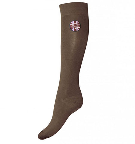 Ladies Taupe Spooks Socks