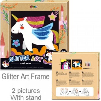 Avenir Glitter Art Unicorn