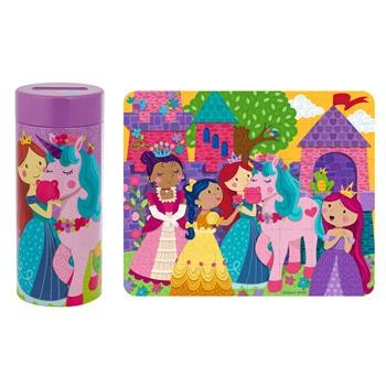 Unicorn Puzzle Tin