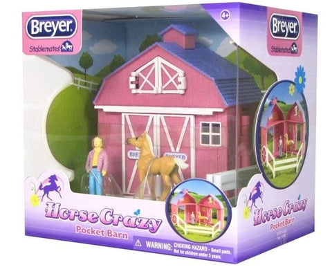 Breyer Stable mates  Pocket Barn