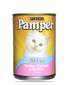 Friskies/Pampers Kitten Tins 400g