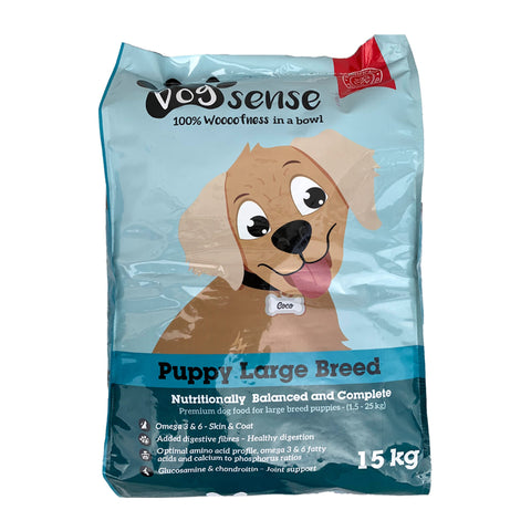Dogsense Large breed Puppy Dog food