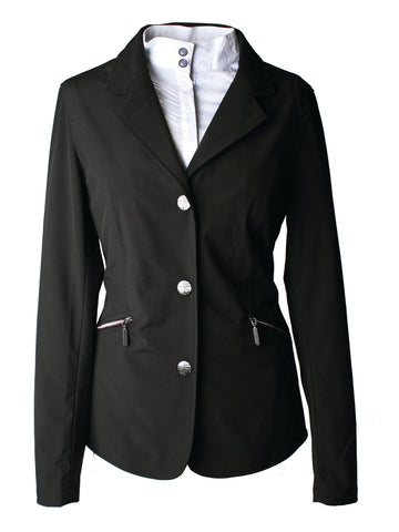 Black Ladies Horseware Competition Jacket