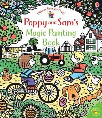 Farm Animals: Magic Painting