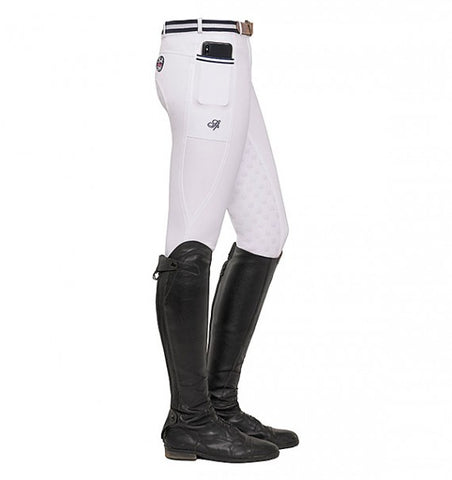 Spooks Leena Full Grip Breeches White