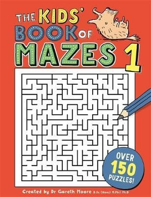 Kids Book Of Mazes