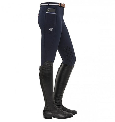 Spooks Leena Knee Grip Breeches Navy