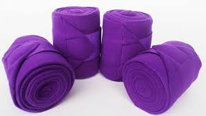 Purple Stable Bandage
