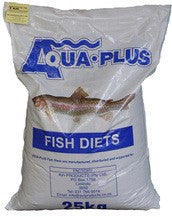 Fish Koi Pellets No 4 25Kg