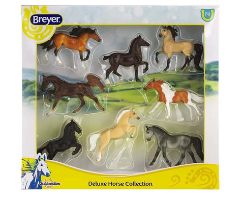 Breyer Stable mates Deluxe Horse Collection