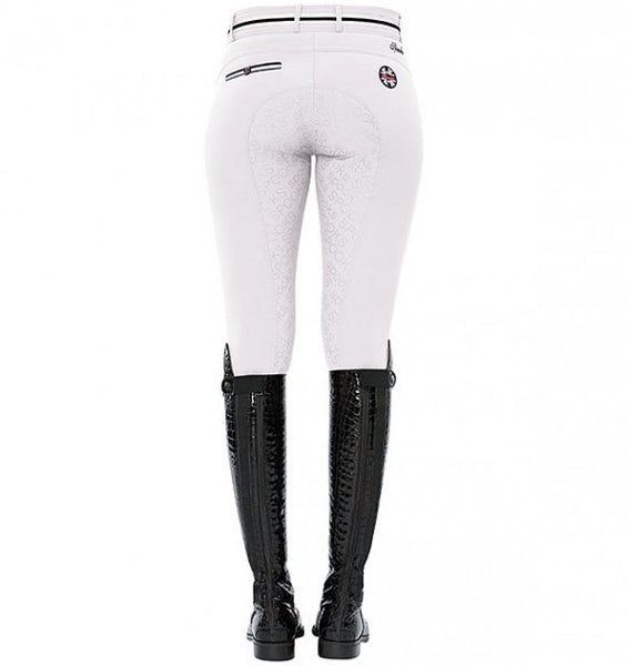 Spooks Ina Light Full Grip Breeches White